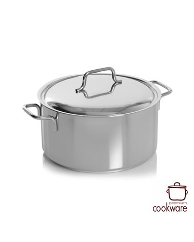 kookpot met deksel 24 cm