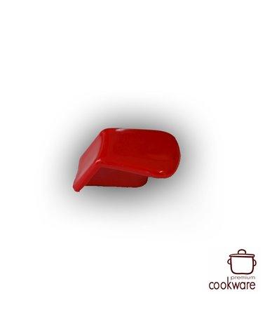 Rode / zwarte knop voor bovengreep
